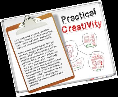 Practical creativity module
